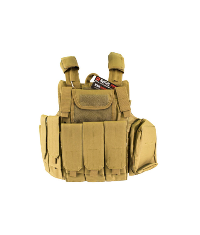 NUPROL RTG Plate Carrier (Tan)