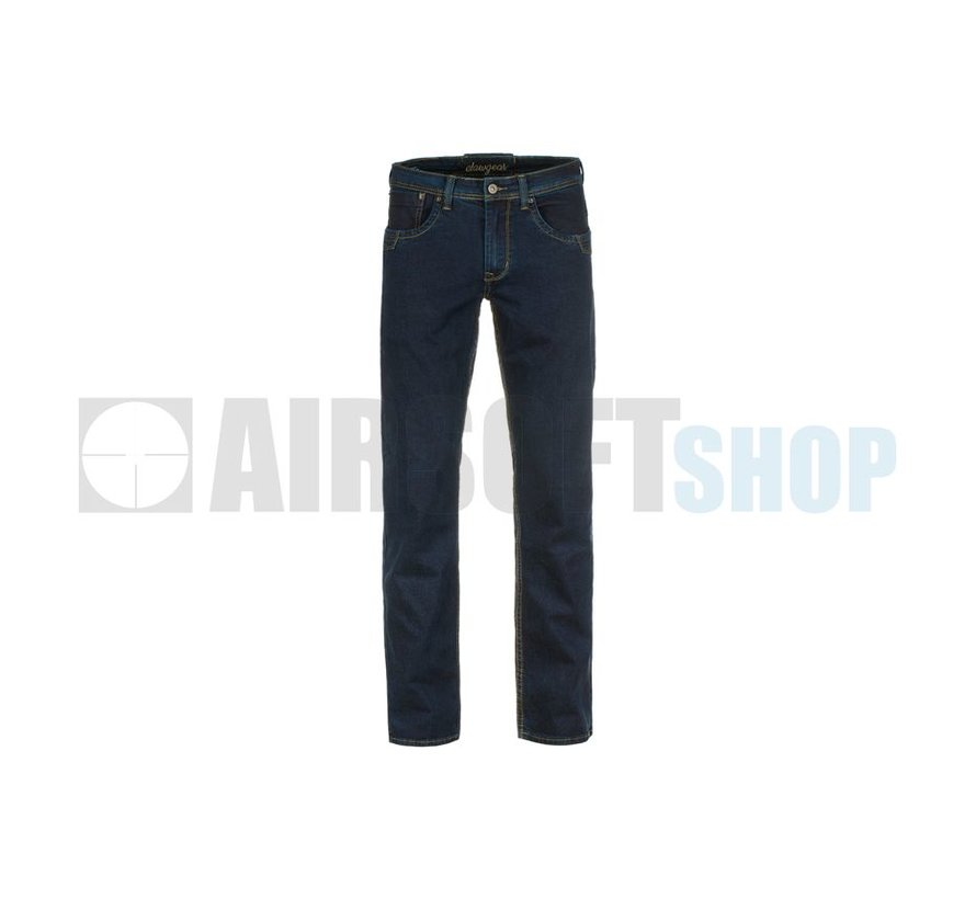 Blue Denim Tactical Flex Jeans (Midnight)