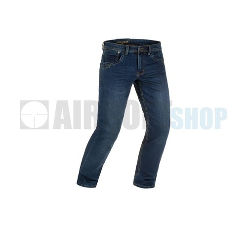 Claw Gear Blue Denim Washed Tactical Flex Jeans (Sapphire)