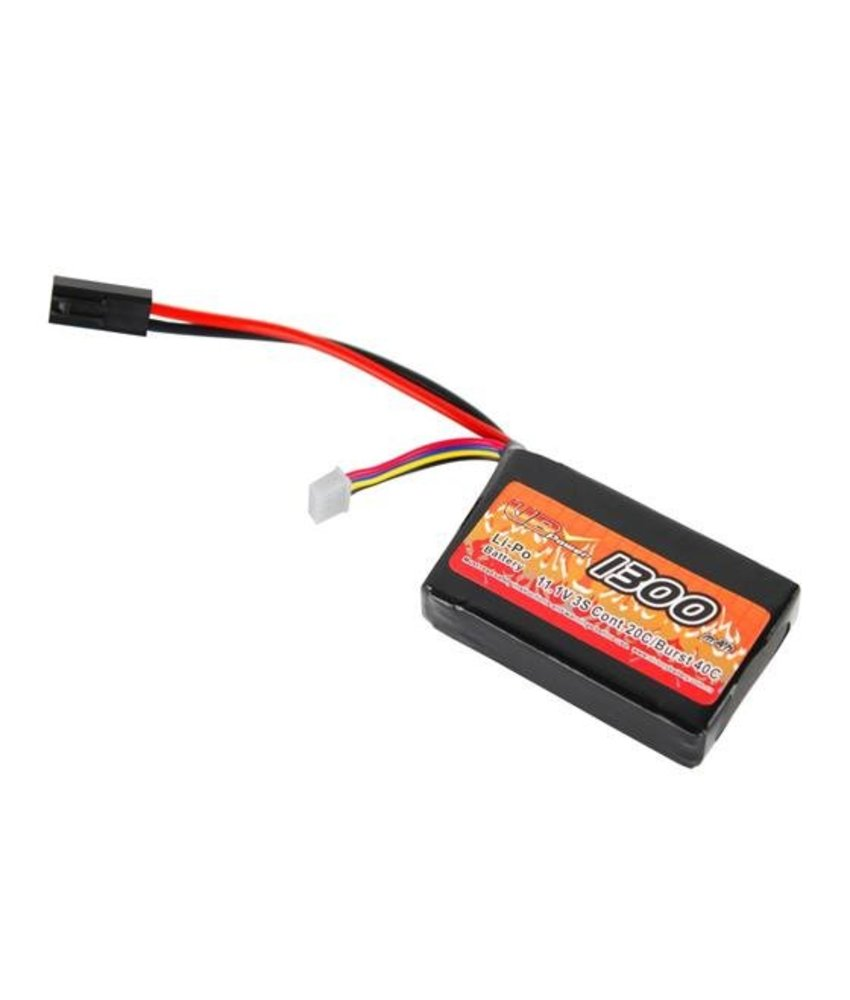 VB Power LiPo 7.4V 1300mAh 15C Mini Type