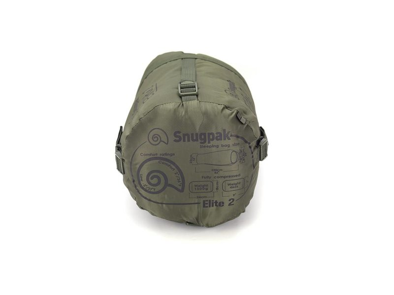 Snugpak Softie Elite 2 Sleeping Bag (Olive)