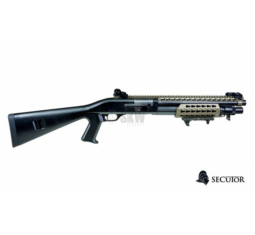 Velites S-XI Spring Shotgun (Tan)