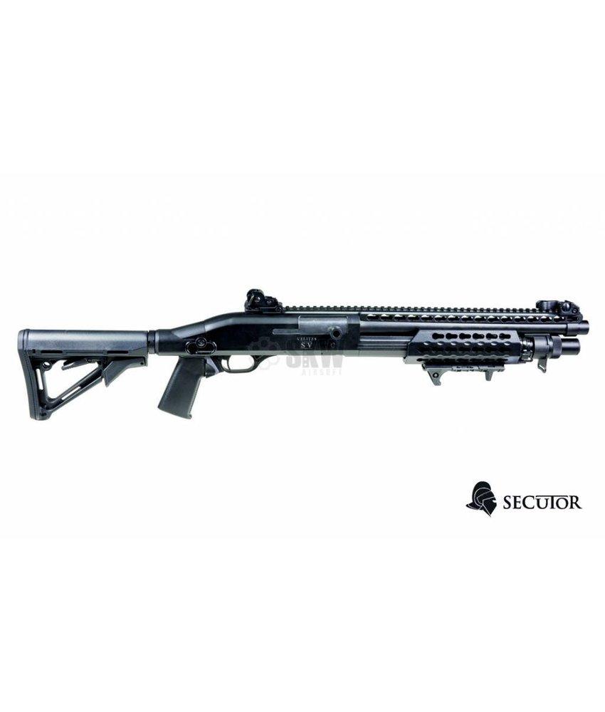 Secutor Velites S-V Spring Shotgun (Black)