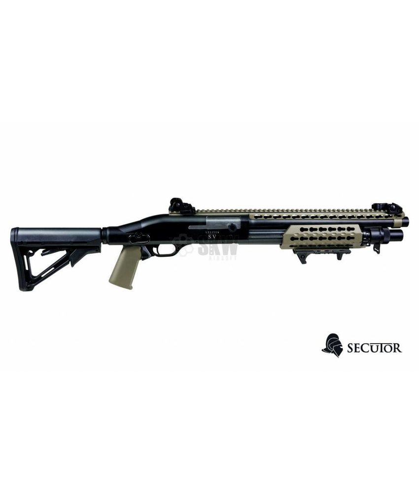 Secutor Velites S-V Spring Shotgun (Tan)