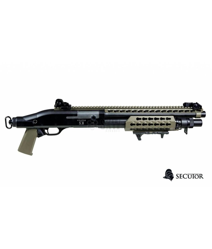 Secutor Velites S-II Spring Shotgun (Tan)