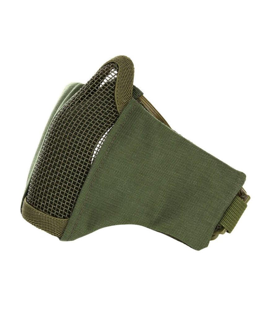 101 Inc Nylon / Mesh Face Mask (Olive Drab)