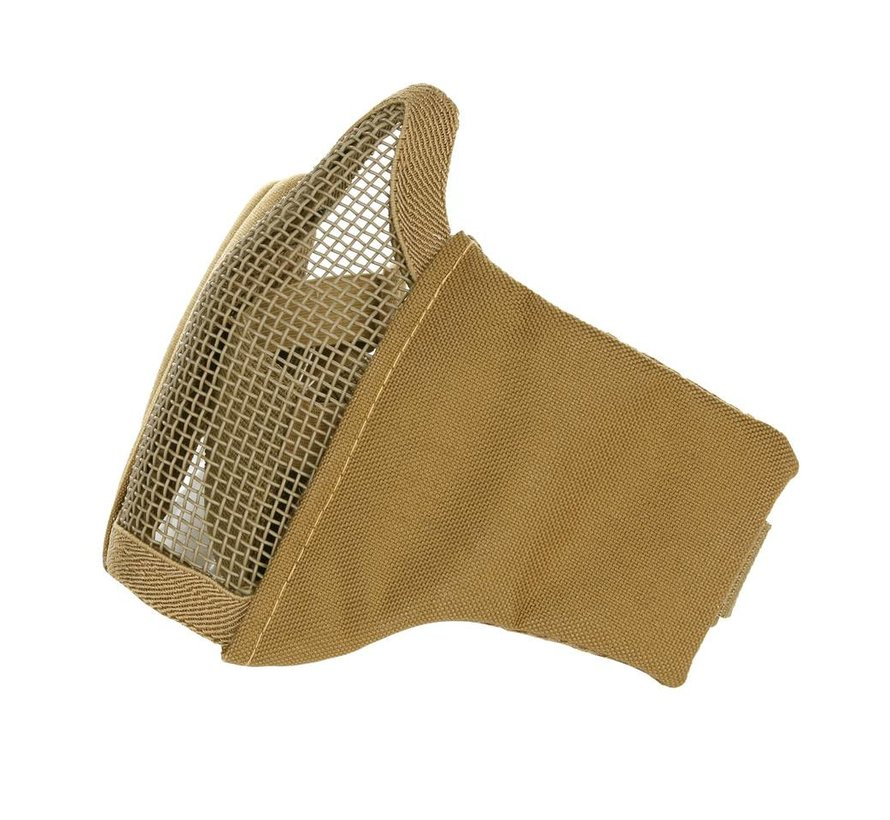 Nylon / Mesh Face Mask (Coyote)