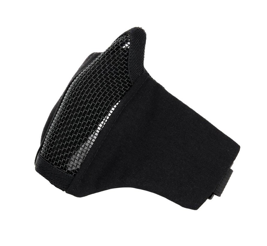 Nylon / Mesh Face Mask (Black)