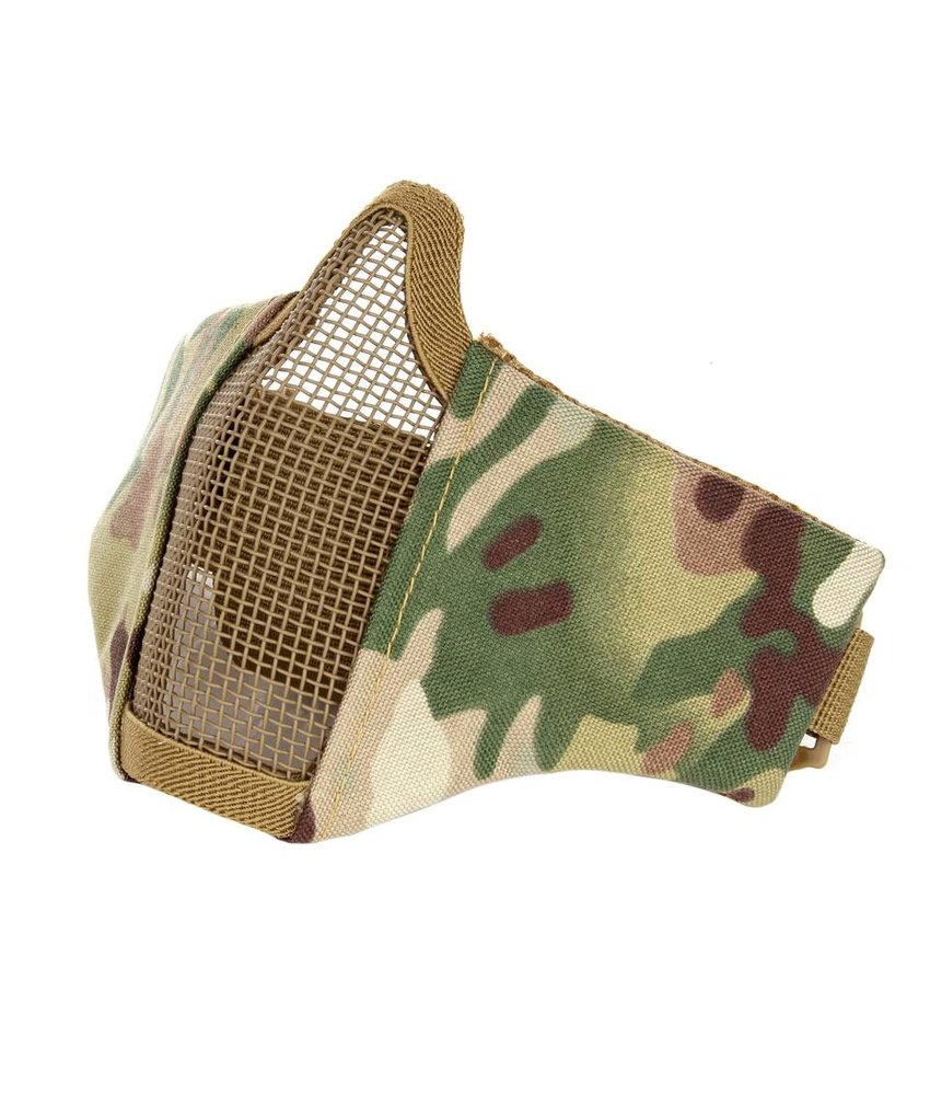 101 Inc Nylon / Mesh Face Mask (Multicam)