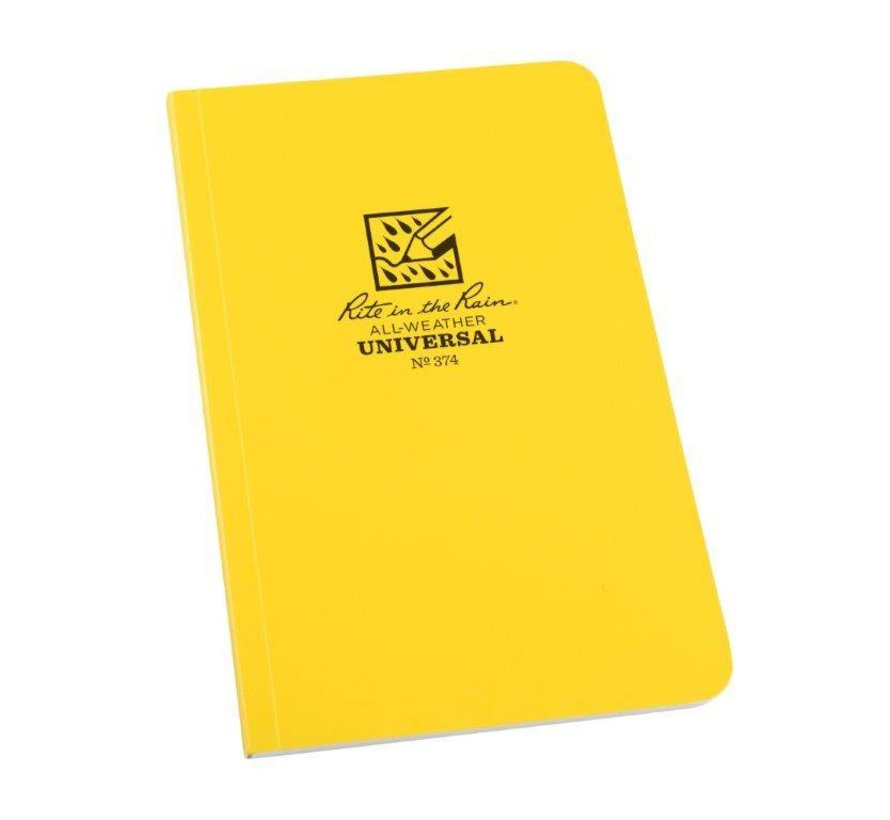 All Weather Notebook No. 374 (Yellow)