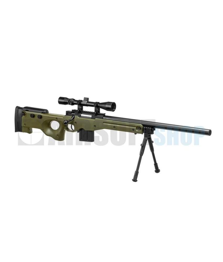 WELL L96 AWP Sniper Rifle Set (Olive Drab)