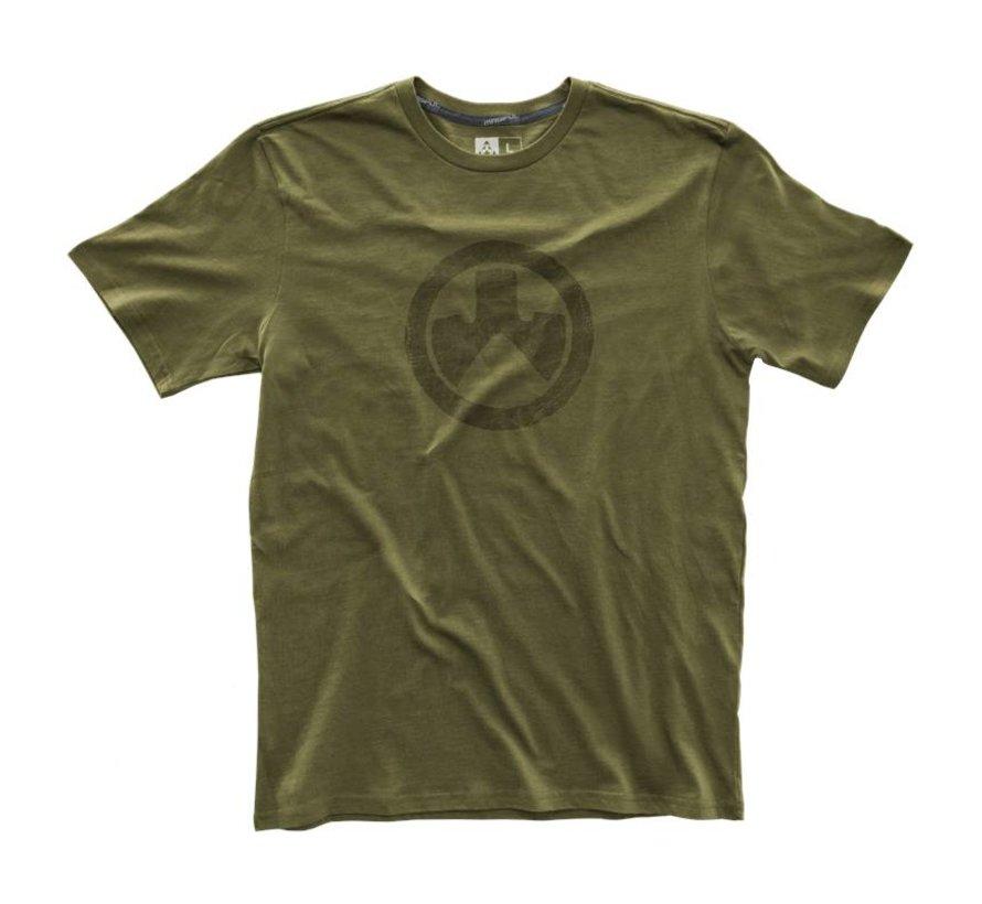 Fine Cotton Topo T-Shirt (Olive)