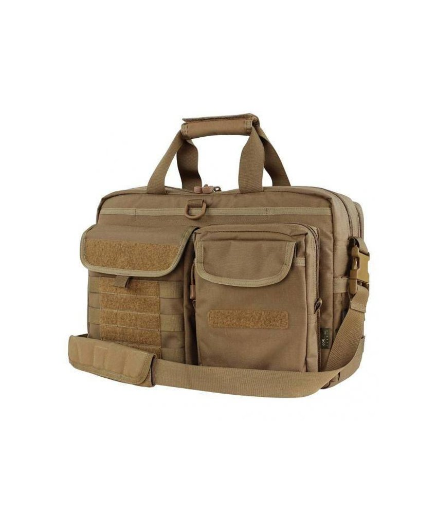Condor Elite Metropolis Briefcase (Brown)
