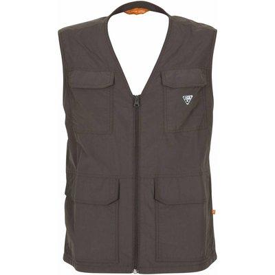 Life-Line Hike Heren Vest Met HHL Vital Protection in de kleur Donkergrijs