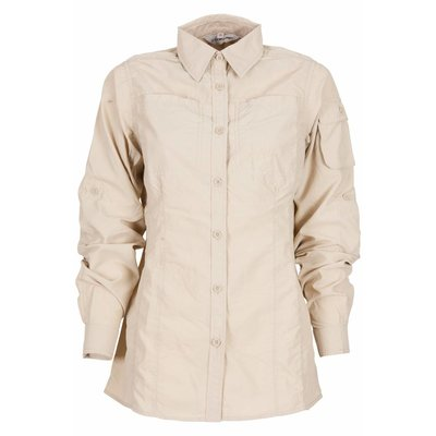 Life-Line Leiston - Anti-Insect Blouse Dames in Beige