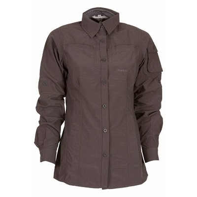 Life-Line Leiston - Anti-Insect Blouse Dames in Donkergrijs