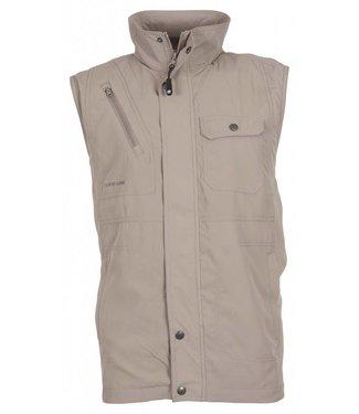 Life-Line Ben UV werend vest Heren in Taupe