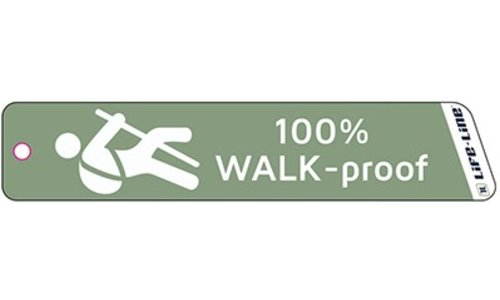 100% WALK-proof