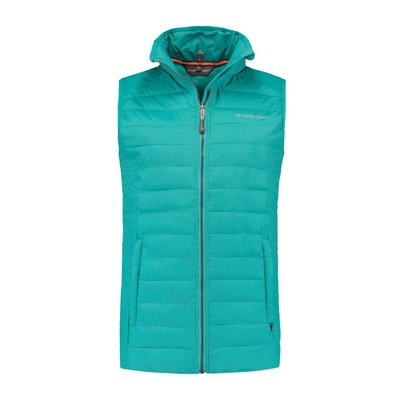 Life-Line Alke - Dons-look Bodywarmer Dames Turquoise