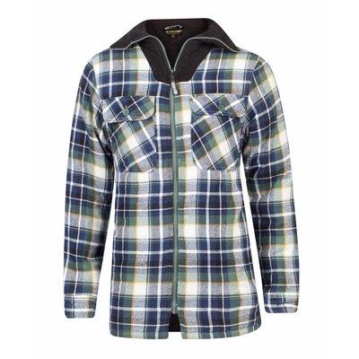 Life-Line Peter - Heren Flanel Shirt in Groen
