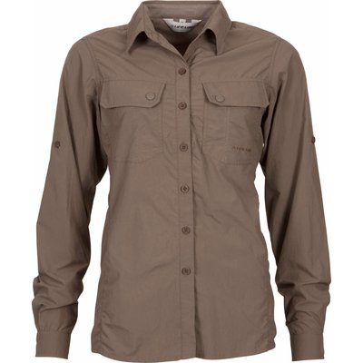 Life-Line Samani - Dames Shirt Anti-Insect in Taupe