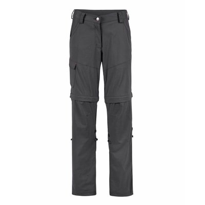 Life-Line June Dames Zip-off Pants HHL in Donker Grijs