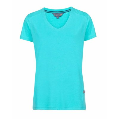 Life-Line Julie Dames T-Shirt in Turquoise