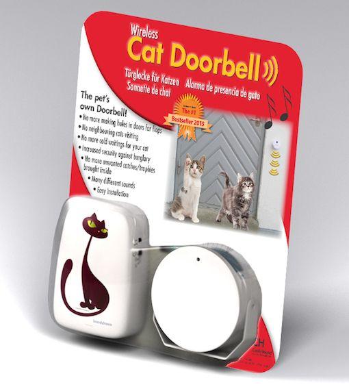 Wireless Alarm Cat And Dog Doorbell Salesdepot