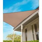 Coolaroo 2017 Schaduwdoek driehoek 5m Beech 15 jaar