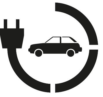 Rust Oleum Oplaadpunt Electrische Auto Sjabloon 90x80 Cm