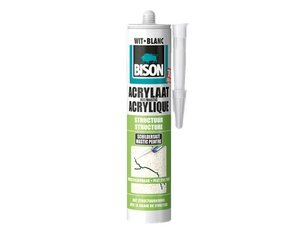 Bison Acrylaatkit structuur wit 310ml
