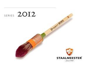 Staalmeester Besnijkwast Kwast (Rechampir) Serie 2012