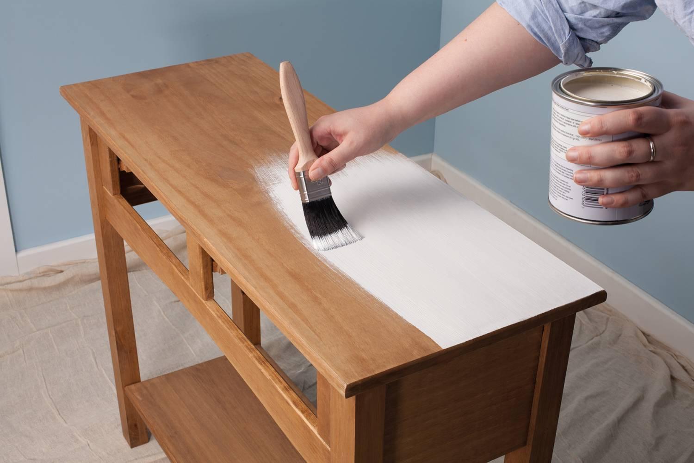 Meubels verven een goede voorbereiding is het halve werk - Meubels om zelf te schilderen zelfs ...