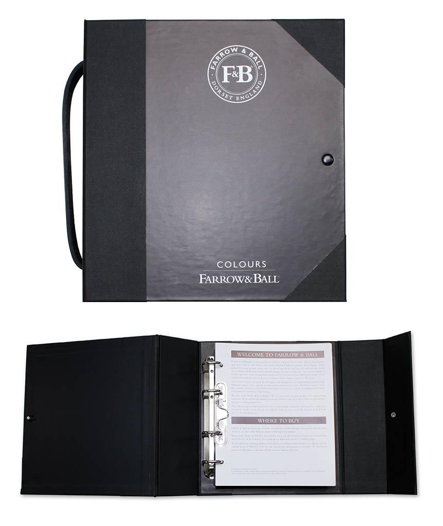 farrow ball large colourbook kopen bestel hier online. Black Bedroom Furniture Sets. Home Design Ideas