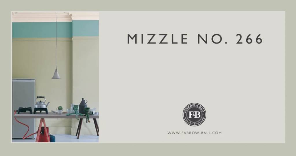 farrow and ball mizzle 266. Black Bedroom Furniture Sets. Home Design Ideas