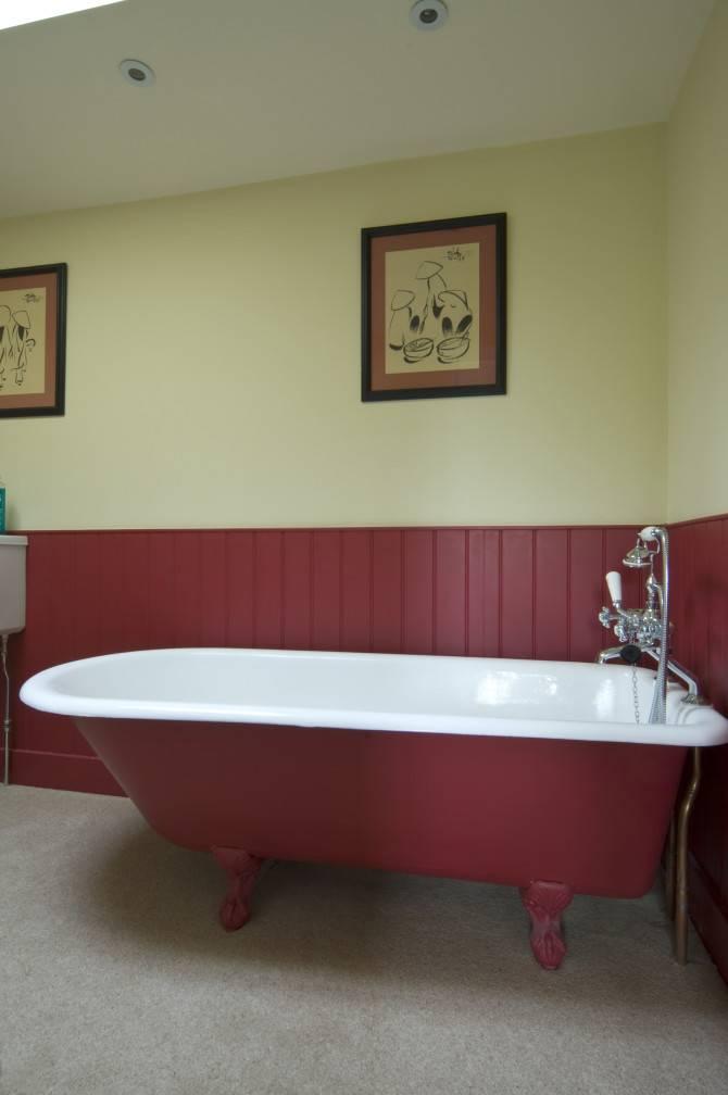 Schimmelwerende badkamerverf voorkomt schimmel in de badkamer ...
