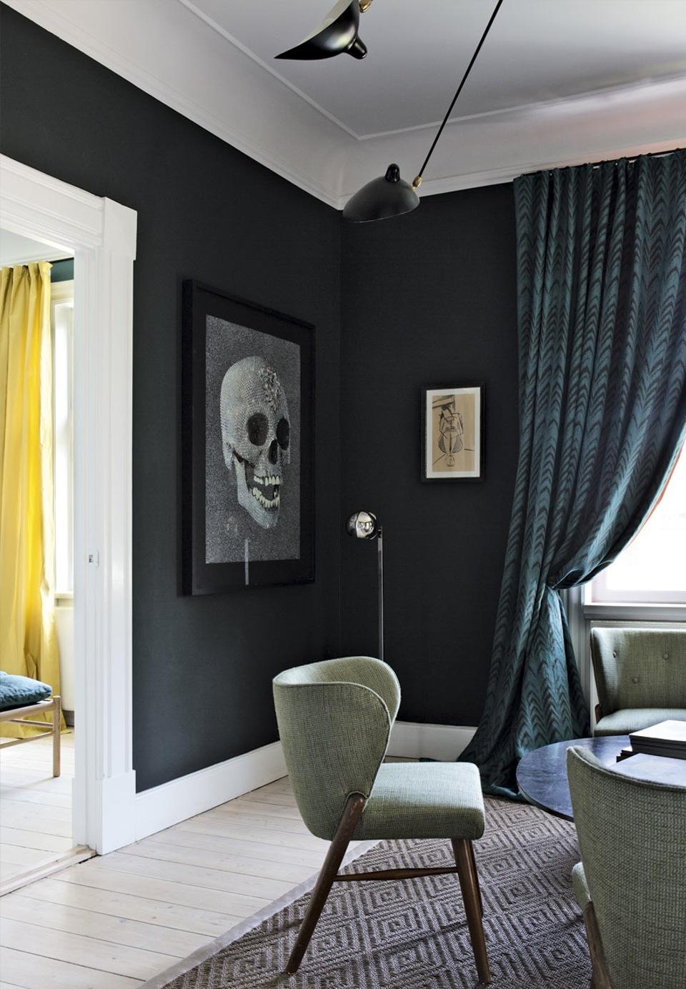 Kleurentrends 2017 2018 fifty shades darker met farrow for Interieur trendkleuren 2018