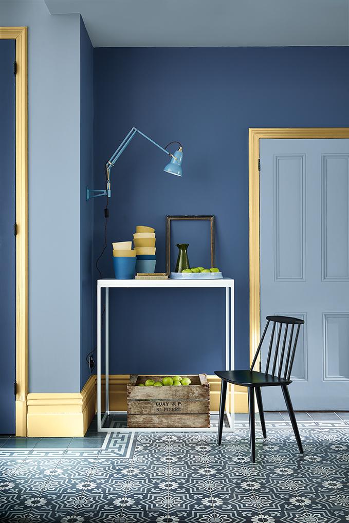 Little Greene: Blauw is het nieuwe zwart - Verfwebwinkel.nl