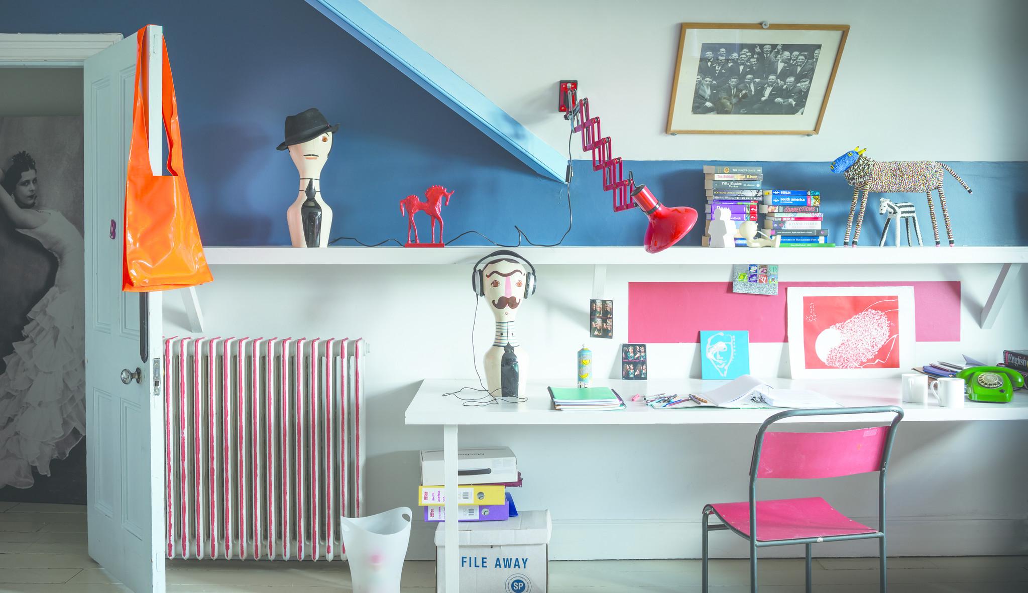 Schilderijen Kinderkamer Voorbeelden : Kinderkamer schilderen creatief met farrow ball verf