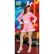 Vrijgezellen-kleding sexy Bunny, roze