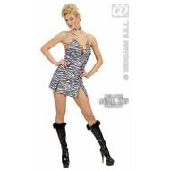 Sexy Vrijgezellenkostuum: Zebra-girl