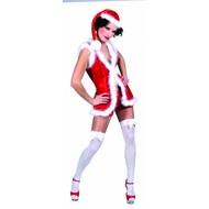 Kerstkleding: Sexy kerstjurkje (plusche)