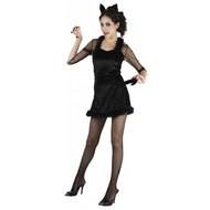 Feestkleding: Zwarte kat