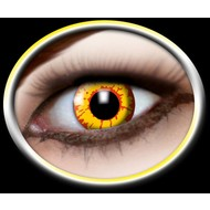 Party-accessoires: Contactlens Rood/Geel