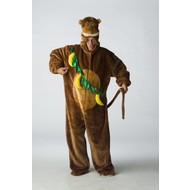 Dierenpak: Pluche aap met bananen
