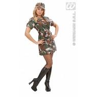Vrijgezellen-feest-kleding: American Army-girl
