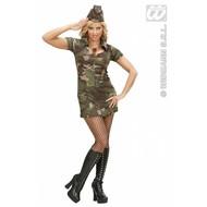 Vrijgezellen-feest-kleding: Sexy legermeisje