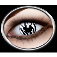 Feest-accessoires: Contactlens Zebra