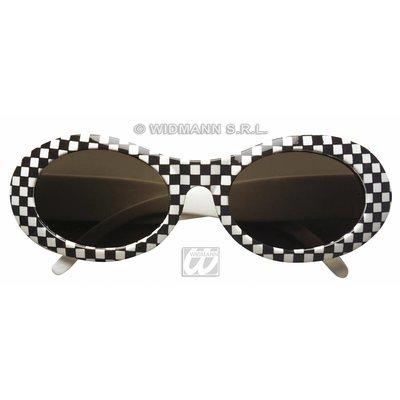Feestkleding accessoire: Bril uit de jaren 60