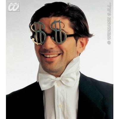 Bril met dollar teken voor feestje